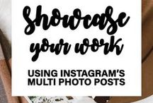 Instagram tips / A collection of resources that'll let you make the most of the visual social media platform, Instagram.
