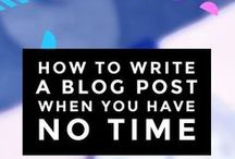 Blogging tips & tricks / A collection of resources designed to help you make the most of your blog.