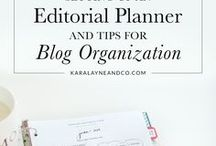 Organise your blog + business / How to stay organised with your blog or business. Featuring tools, hacks, ideas and tips.