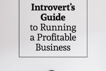 Marketing for introverts / If you're an introvert all the ways others promote their business can feel icky, over the top or not you. Find ways that work for your introvert self with these resources.