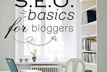 SEO for bloggers / Perfect the basics and take your visibility to the next level with these SEO tips for bloggers.