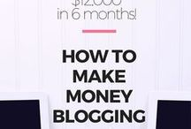 Make money blogging / Want to make money from your blog? Find out how with these resources including advertising, affiliate marketing, sponsored posts, content upgrades and more.