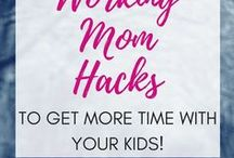 Working Moms / How to be a working mom and still make time for your family. Work from home moms, working moms and how to have it all.