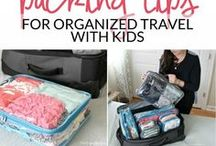 Stress-Free Travel With Kids / Taking family vacations, leaving the stress behind! Tips on how to have a truly relaxing and easy family getaway.