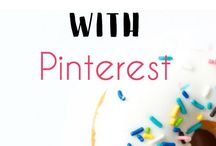 Pinterest Tips / Pinterest tips for bloggers! Find tips and tools to increase traffic to your blog and make money pinning.