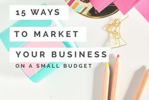 Marketing / How to market your blog or online business.