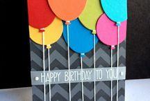 Karten Geburt/Geburtstag / Stampin' Up