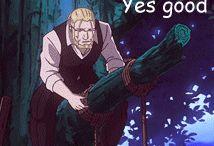 鋼の錬金術師 (Fullmetal Alchemist)