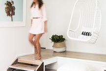 Beach living / Beachy interiors and beautiful surf-inspired homes.
