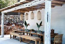 Outdoor spaces / Inspirational outdoor living