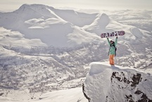 Snowboarding / Snowboarding inspiration that will make you want to go to the mountains.