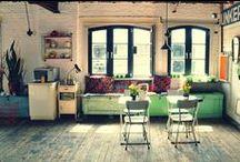 Maison de rêve/ Dream house / J'aime l'industriel par dessus tout. Et aussi le modern-vintage. Et les couleurs.