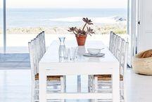 The beach house / The dream house by the sea.