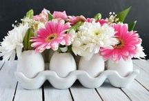 Easter & Spring: Diy Decor Crafts and Recipes / Everything SPRING! The season of rebirth. Spring and Easter ideas from recipes to crafts.