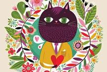 ANIMAL ILLUSTRATIONS / by Heather Iggulden✿