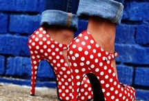 Shoes I love to be able to wear! But I'm too Clumsy! / by Angela Mollman Stomps