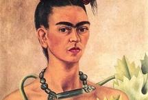 Frida Kahlo Inspiring / by Stephanie Brimm
