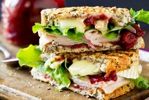 Yum: Sandwiches/Paninis / by Sarah Cline