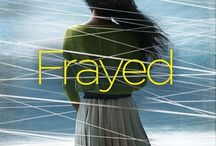Frayed / A collection of images that remind me of my debut novel (YA mystery/thriller) out NOW from Sourcebooks Fire. About a girl who writes letters to her dead sister as she searches for who killed her.