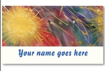 Paint Business Card Ideas