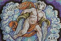 Aquarian Things / Aquarius  |  ♒  |  Water-Bearer  |  Fixed  |  Air  |  January 20 to February 18 / by Jo Kell