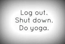 """Yogi Things / """"Exercises are like prose, whereas yoga is the poetry of movements.  Once you understand the grammar of yoga, you can write your poetry of movements.""""  —Amit Ray"""
