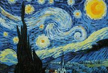 Painting with Vincent Van Gogh