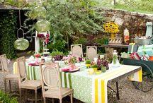 Garden party / Enjoy summer!