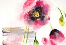 Watercolor and drawing / by Marija Petrovic