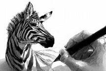 ANIMALS & CREATURES IN ART♥