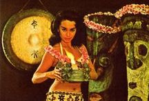 Tiki Destination / Celebrate Tiki culture with delicious drinks, white sand beaches and hula skirts. Build your perfect Luau with Retro-a-go-go!