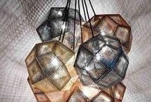 Tom Dixon Design / Inspiration about Tom Dixon work, finds and great design using gold colours. Inspiration du travail de Tom Dixon, sont design et l'utilisation des teinte de dorés en décoration.