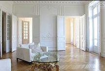 Deco Style - Amor d'Eixample - Urban Appartment Inspirational Board / Barcelona Eixample & Haussmann Paris style. Beautiful classic doors. Lightful appartments!
