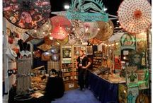 What You See at Shows / Some of our favorite Retro-a-go-go! booth shots at tradeshows.