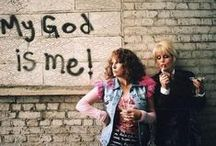 "Absolutely Fabulous Things / Eddy: ""Have you eaten something?""  Patsy: ""No, not since 1973."" / by Jo Kell"