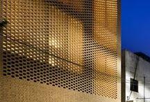 Materials - Bricks & Geometric design / Bricks; Geometry; Graphic Design; Light & Shadows; Wall textures