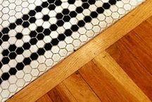 Materials - Mix floor / Wood; tiles; Ceramic; Hidráulico; Parquet; Vinilos, Textiles