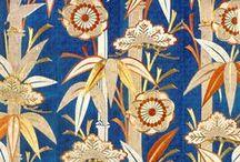 Materials - Textile Ideas & Textures / Patterns; geometric designs; Exotic, New fabrics. Paper & Textiles decor