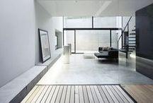 Deco style - Minimalism - Inspirational board / Minimal design, black & White design. Simple ideas.