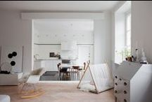 Deco Style - Nordic inspirational Board / Nordic style; Minimal; Wood floors; Pastel colours; Lightful spaces.