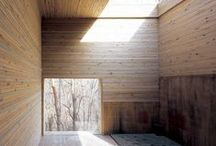 Architecture / Fabulous houses; Architecture ideas; Ligth & Shades; Construction materials