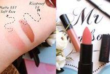 Makyaj-make up- beauty / kullandığım kozmetik ürünler