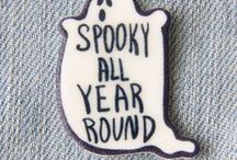 Halloween ideas / Beautifully spooky. Sticky fingers. Trick or treat.