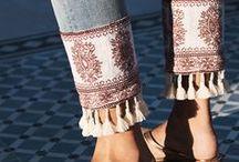 Zakončení nohavic a rukávů DIY