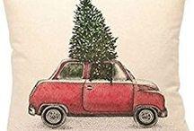 Malování na polštáře, Vánoce, Helloween DIY