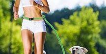 Pružné vodítko / Hands Free Dog Leash DIY