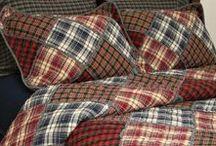 Спальня-текстиль.