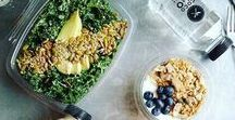 healthy food / ♡Eating healthy is a form of self respect♡