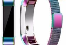 Fitbit Strap Wrist Band Magnetic Flex Stainless Steel Blaze Alta Charge 2 Watchband Bracelet