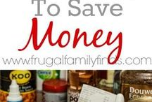 Grocery Budget Tips / Ways to trim your grocery budget, couponing tips, printable coupons, and how to get the best deals.  Aldi meal plans, and recipes.